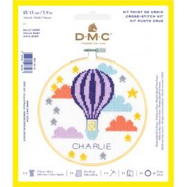 Kit de Punto de Cruz  - Hola Bebe - DMC