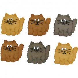 Botones Fat Cats - Dress It Up