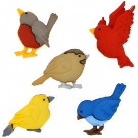 Botones Feathered Friends - Dress It Up