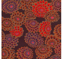 Floating Flowers Marron