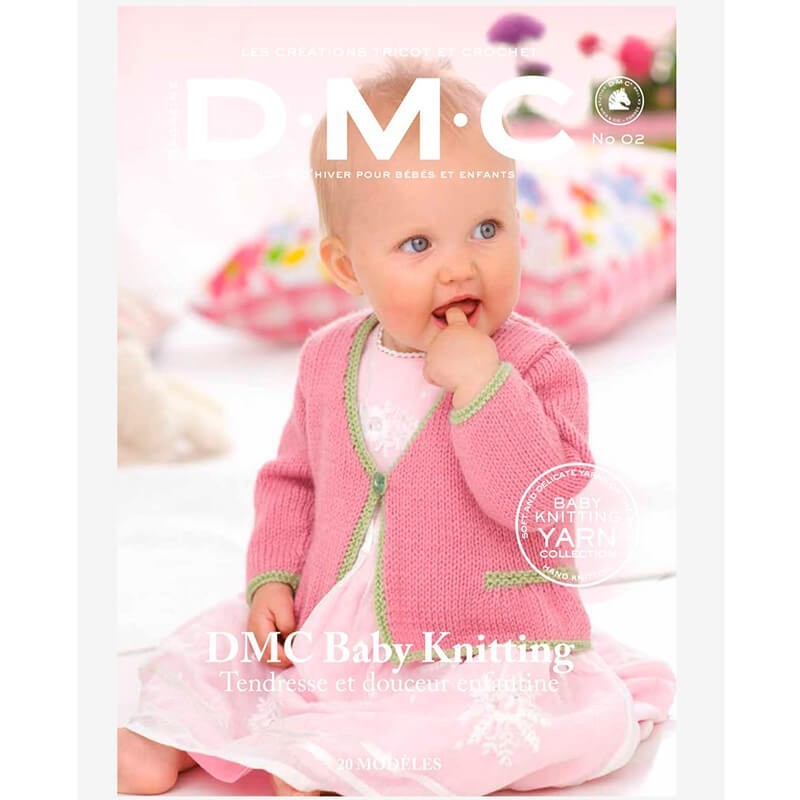 Magazine DMC Nº 1  Tricot Baby Knitting Yarn Collection - 2017