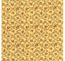 Flowers in yellow base