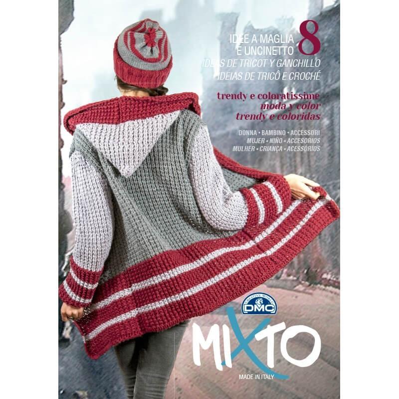 Revista DMC Mixto 8 Ideas de Tricot y Ganchillo - 2016