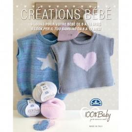 Revista DMC Creaciones Baby 9 diseños para tu bebé de 6 a 18 meses