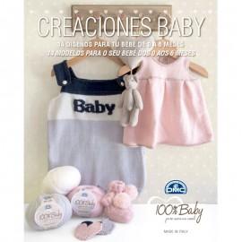 Revista DMC Creaciones Baby 14 diseños para tu bebé de 0 a 6 meses