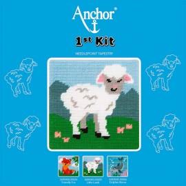 Anchor 1st Kit de Tapiceria - Little Lamb