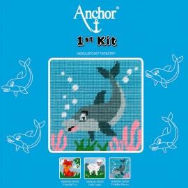 Anchor 1st Kit de Tapiceria - Dolphin Waves