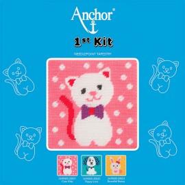 Anchor 1st Kit de Tapiceria - Cute Kitty