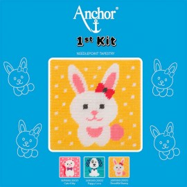 Anchor 1st Kit de Tapiceria - Beautiful Bunny