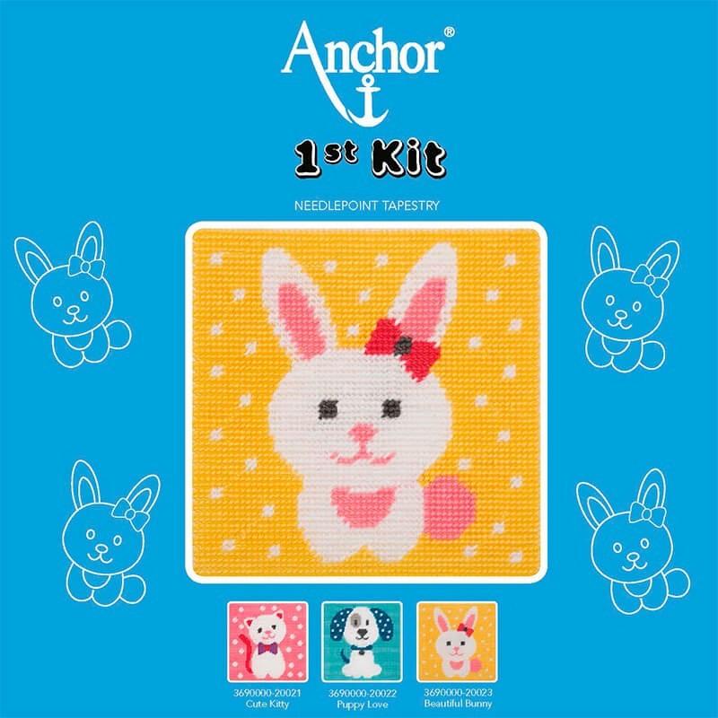 Anchor 1st Kit de Tapiceria - Beautiful Bunny