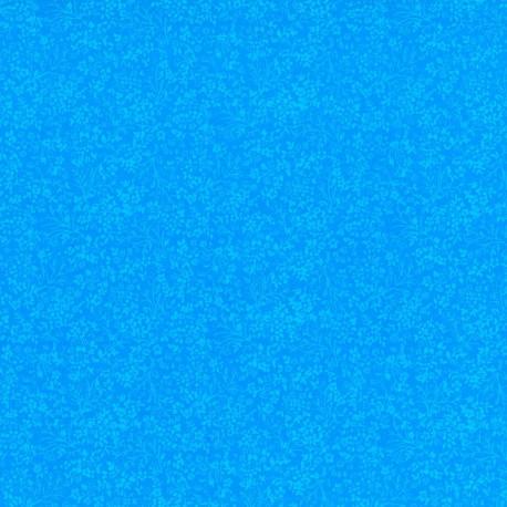 Flores en Azul