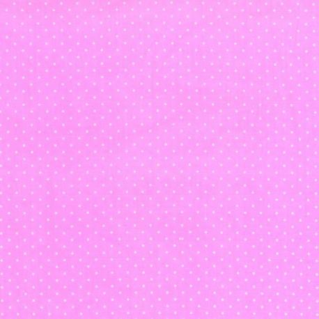 Tela con Puntos - Rosa