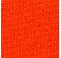 Tela Lunares - Naranja