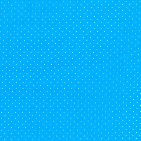 Tela con Puntos - Azul