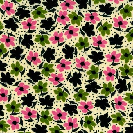 Flores - Rosa y Verde
