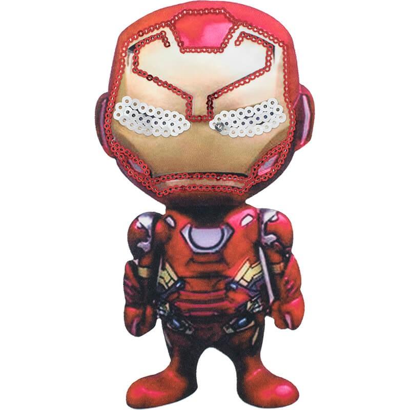 Patch Iron Man Las Tijeras Magicas