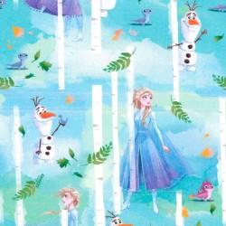 Tela de Algodón - Elsa y...