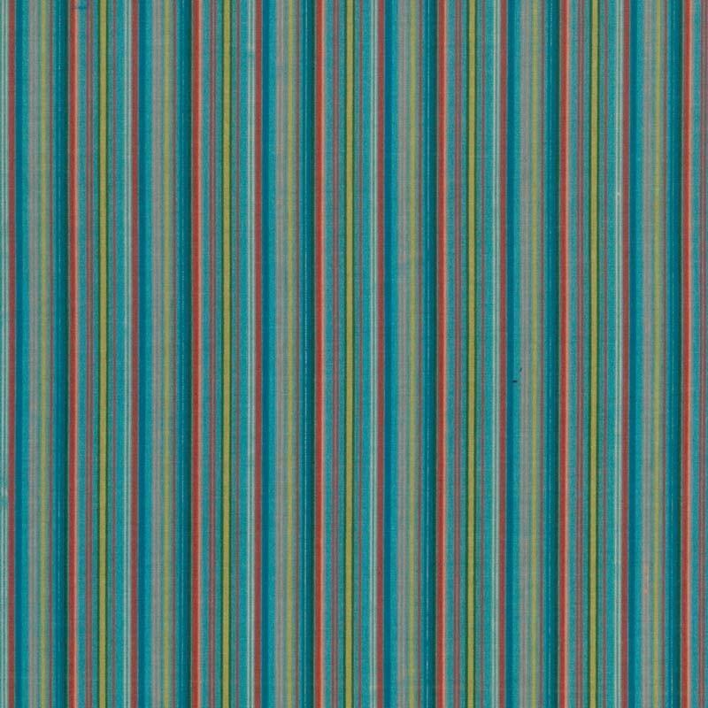 Rayas Horizontales Multicolor- Azul Cielo