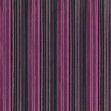 Rayas Horizontales Multicolor- Lila