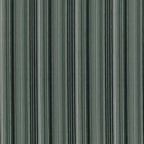 Rayas Horizontales Multicolor - Gris