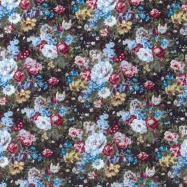 Rosas Vintage Pintada Multicolor- Negro