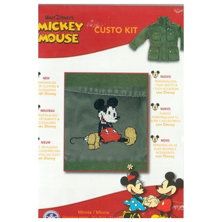 Custo Kit Mickey Mouse""""