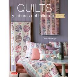 Quilts y labores del taller...