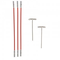 Cables Twist Red para...