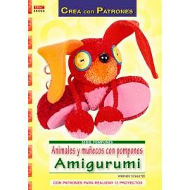 Animales y muñecos con pompones Amigurumi
