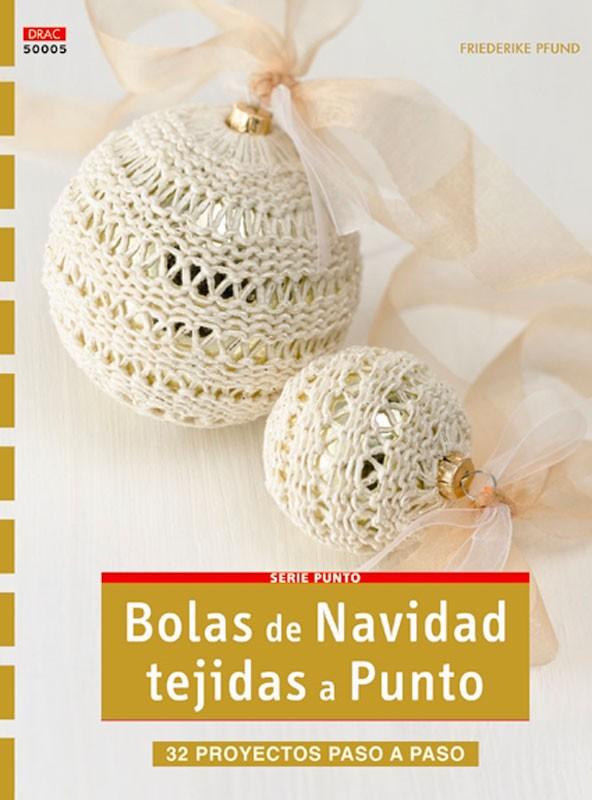 Bolas de Navidad tejidas a punto - Las Tijeras Mágicas