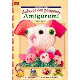 Muñecos con pompones Amigurumi