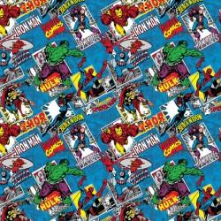 Cotton Fabric - Marvel - Comic