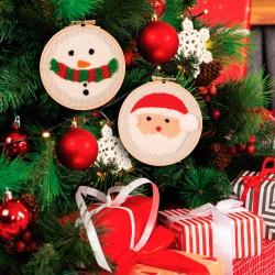 Kit de Punch Needle - Santa...