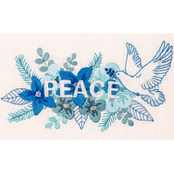 Free Embroidery Kit - Peace...