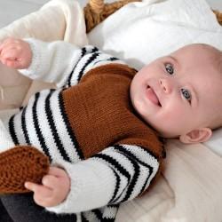 Kit de Punto Vestido Baby...
