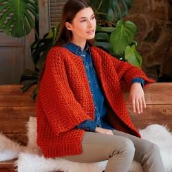 Kit de Crochet Chaqueta...