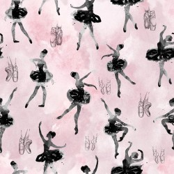 Cotton Fabric – Ballerina...