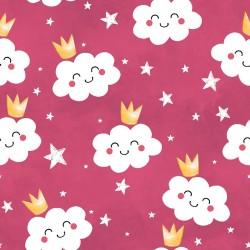Cotton Fabric – Cloud Queens