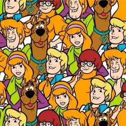 Tela de Algodón - Scooby Doo