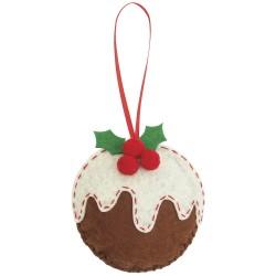 Felt Kit – Christmas Pudding