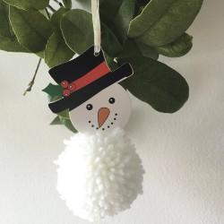 Pom Pom Kit – Snowman