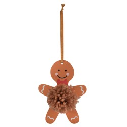 Pom Pom Kit – Gingerbread Man