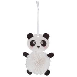 Kit de Pom Pon - Panda