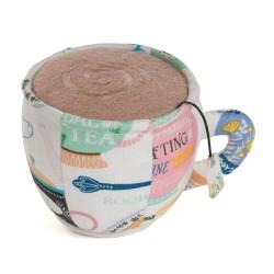 Cup Pincushion - Time For Tea