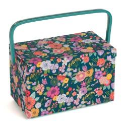 Costurero Con Tapa - Floral...