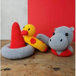 Crochet Kit – Helga the Hippo