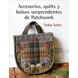 Accesorios, quilts y bolsos...