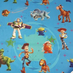 Cotton fabric - Toy Story-...