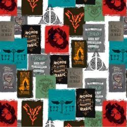 Tela de Algodón - Harry Potter