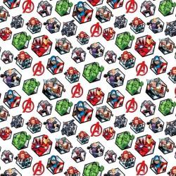 Tela de Algodón - Marvel -...